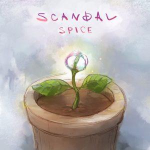 Pochette du single SPICE par le groupe SCANDAL