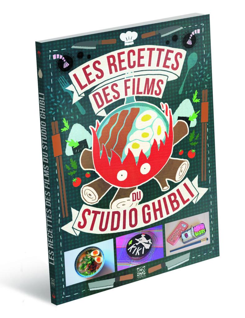 Couverture du Livre de recettes des films du studio ghibli