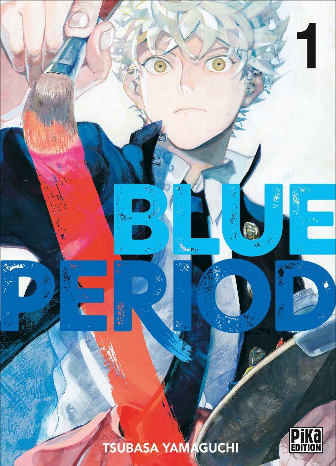 Couverture du tome 1 de Blue Period chez Pika