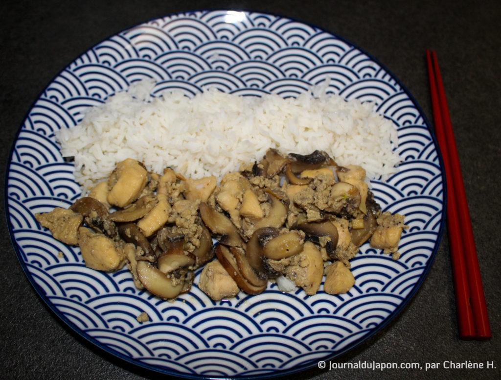 Résultat de la poêlée de champignon made in Ghibli