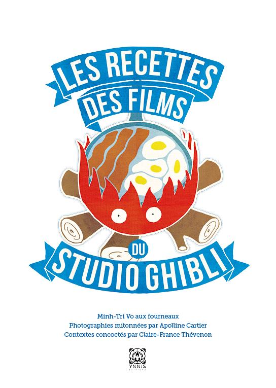 Page de titre du livre de recettes des films du studio