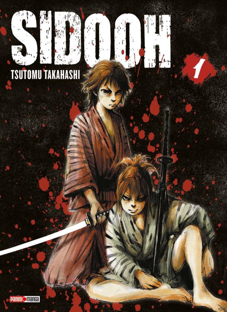 Couverture du tome 1 de Sidooh chez Panini Manga