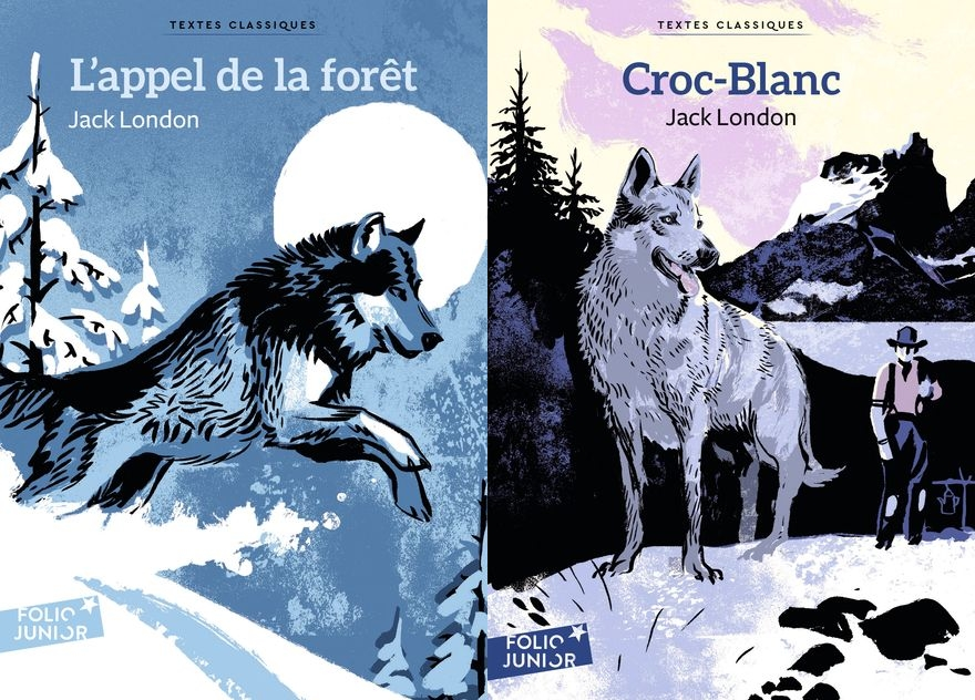 Croc-Blanc et L'appel de la forêt deux classiques de littérature jeunesse de Jack London