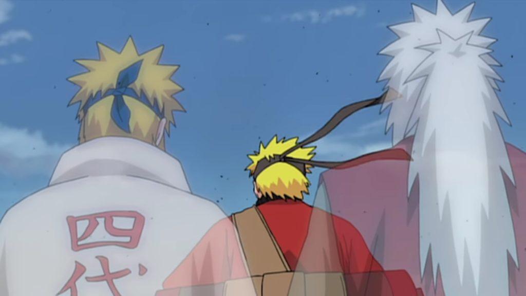Naruto héritier de Minato et de Jiraya