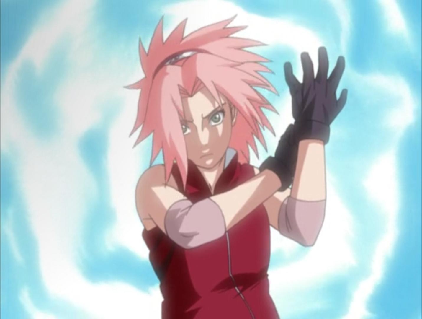 Sakura élève de Tsunade