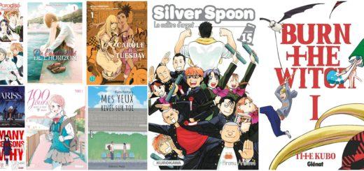 Sorties manga février 2021