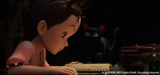UNE de AYA et la Sorcière du studio Ghibli