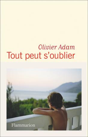 Tout peut s'oublier d'Olivier Adam, éditions Flammarion : couverture