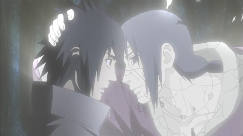 "Itachi : ""Je t'aimerai toujours"""