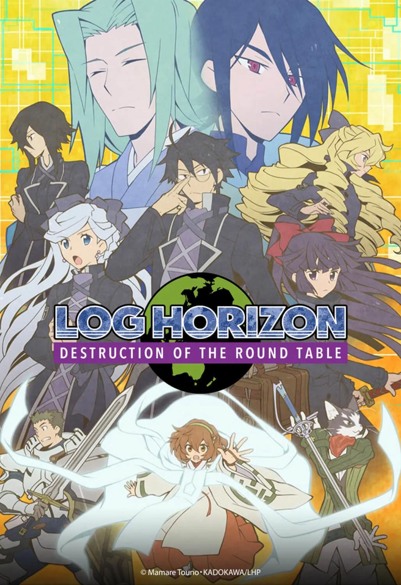 Log Horizon 3 - Wakanim