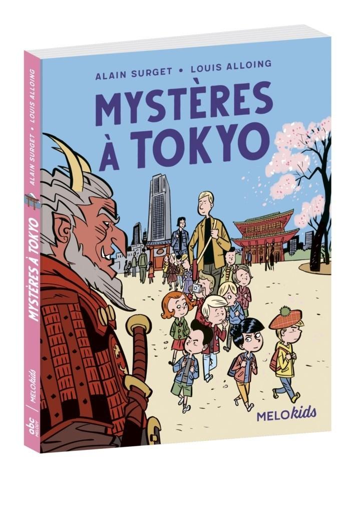 Mystères à Tokyo d'Alain Surget et Louis Alloing chez abcMelody : couverture