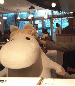 Moomin café tokyo anti solitude