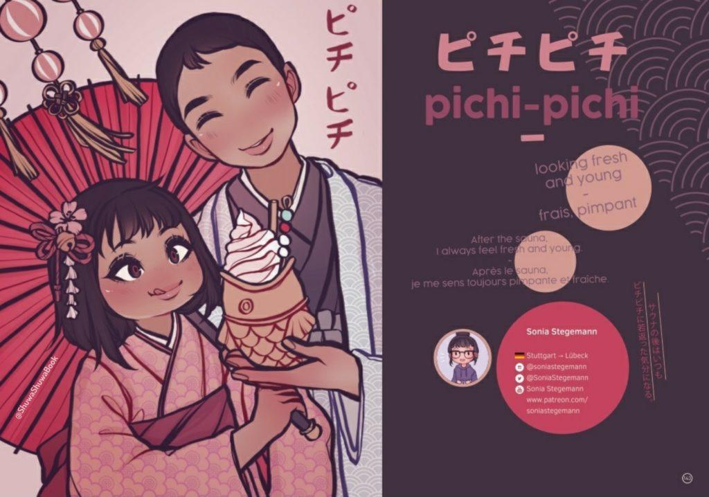 extrait du livre Shuwa-shuwa : pichi-pichi
