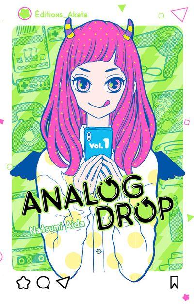 Couverture du tome 1 de Analog Drop chez Akata