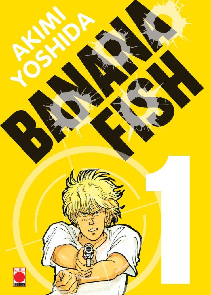 Couverture du tome 1 de la perfect édition de Banana Fish chez Panini Manga