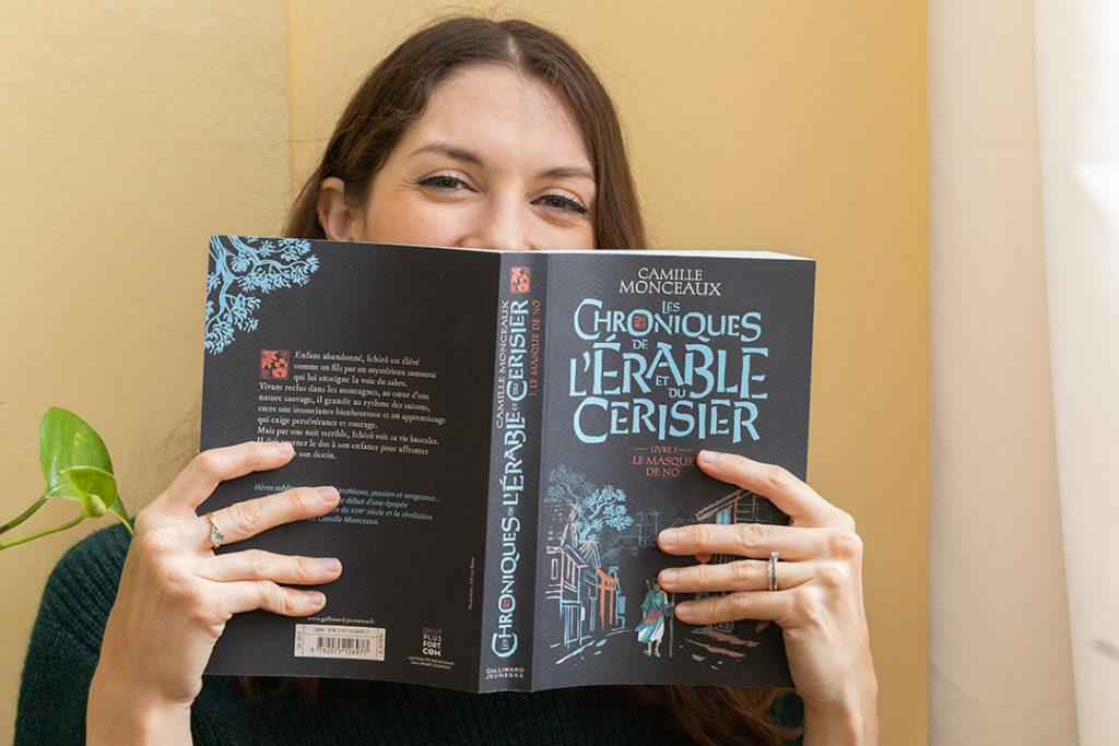 Les Chroniques de l'Erable et du Cerisier de Camille Monceaux