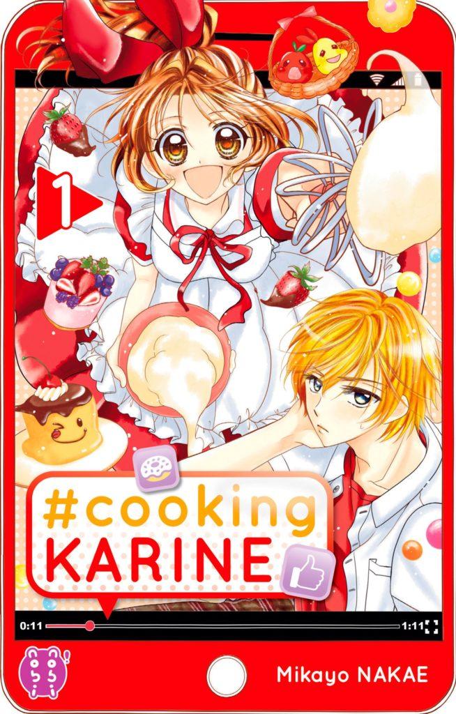 Couverture du tome 1 de Cooking Karine chez Nobi Nobi