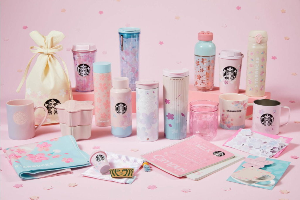 Collection Sakura 2021 Starbucks