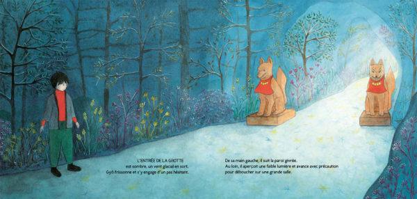 Le printemps de Gyô, éditions Akinomé, pages intérieures