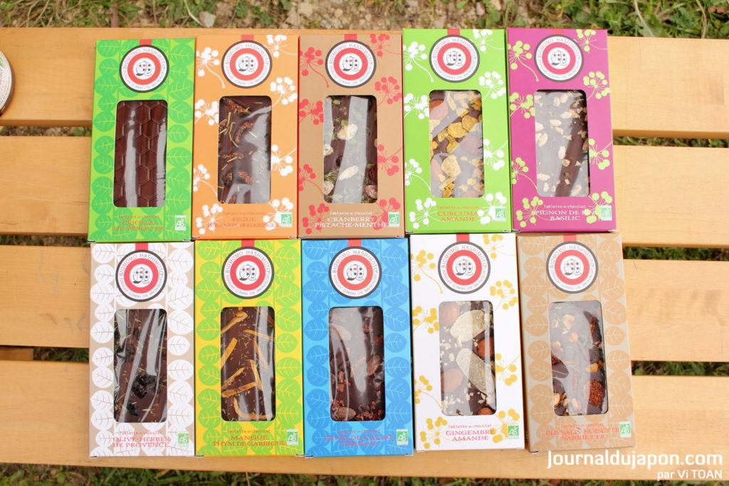 Biomomo Hashimomo chocolat
