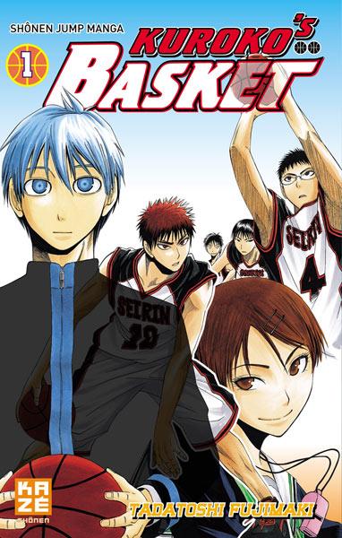 Couverture du tome 1 de Kuroko's Basket chez Kazé