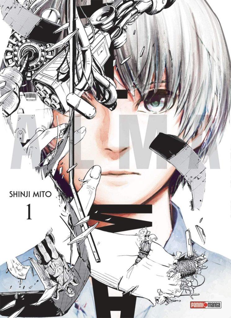 Couverture du tome 1 de Alma chez Panini Manga