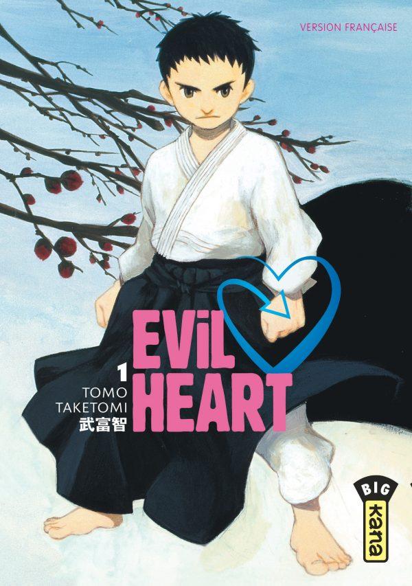 Couverture du tome 1 de Evil Heart chez Kana