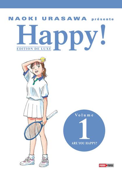 Couverture du tome 1 de Happy! chez Panini