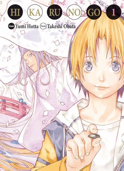 Couverture du tome 1 de Hikaru no Go chez Tonkam