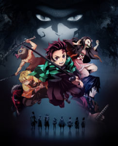 Visuel promotionnel de l'anime Demon Slayer