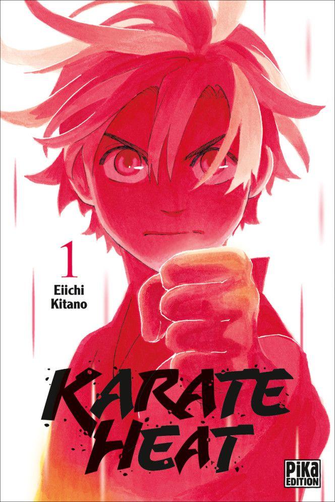 Couverture du tome 1 de Karate Heat chez Pika