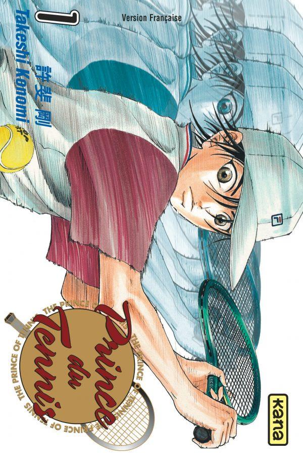 Couverture du tome 1 de Prince du tennis chez Kana