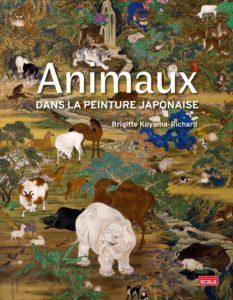 Animaux dans la peinture japonaise de Brigitte Koyama-Richard aux Nouvelles éditions Scala : couverture