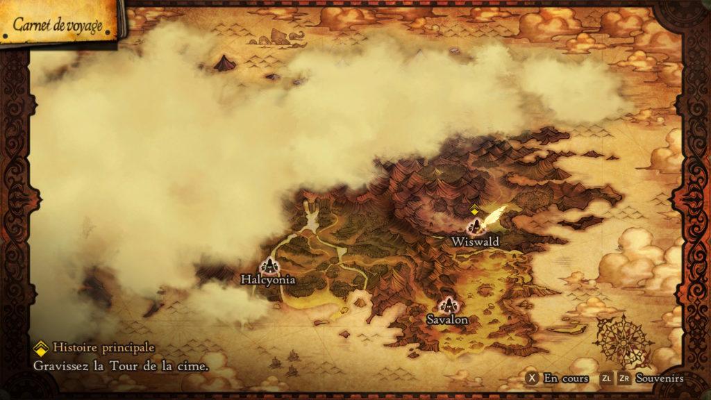 Bravely Default Map