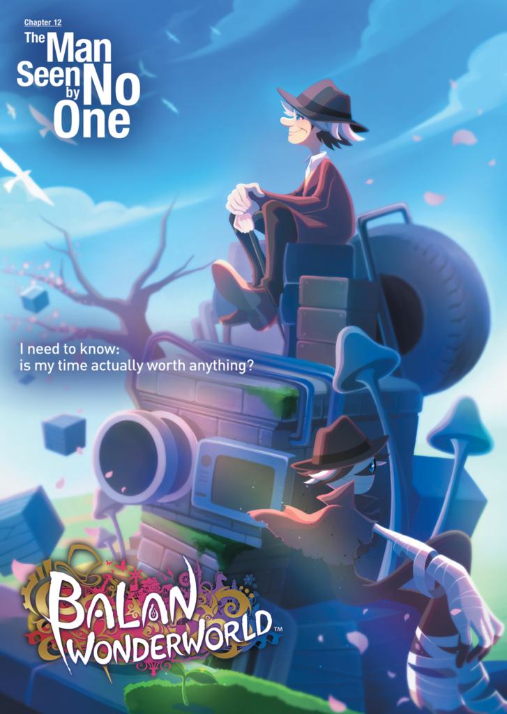 Artwork du 12e personnage de Balan Wonderworld