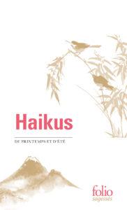 Haïkus de printemps et d'été, folio sagesses : couverture