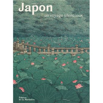 Japon, un voyage silencieux de Sandrine Bailly, éditions de La Martinière : couverture