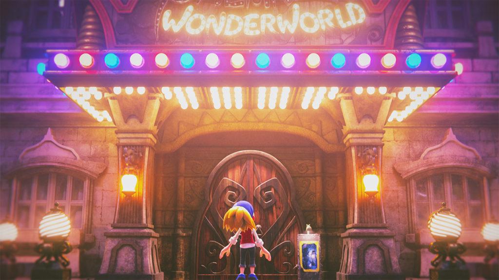 Image présentant le théâtre de Balan Wonderworld avec Léo