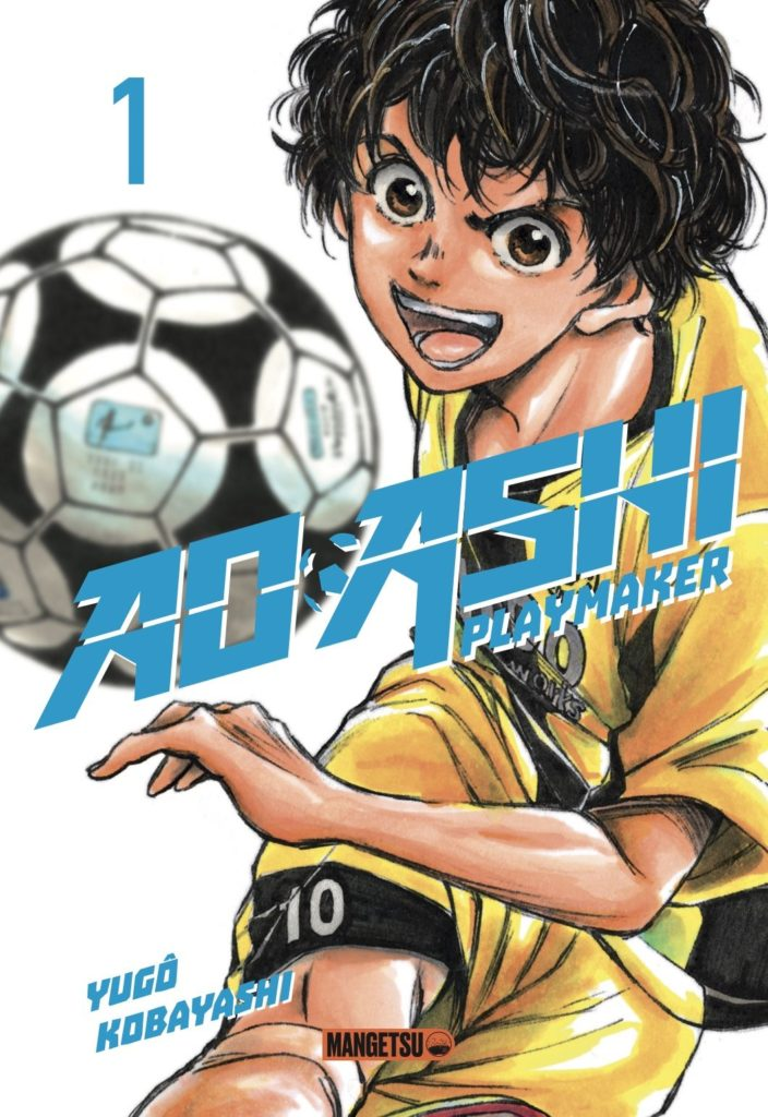Couverture du tome 1 de Ao Ashi chez Mangetsu