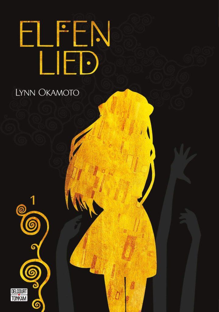 Couverture du tome 1 de l'édition double de Elfen Lied chez Delcourt/Tonkam
