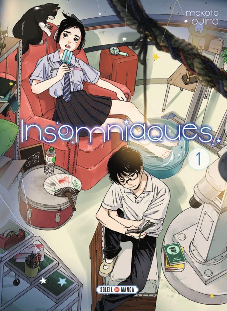 Couverture du tome 1 de Insomniaques chez Soleil
