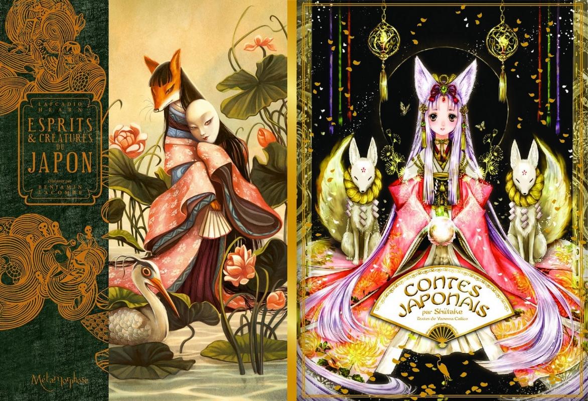 Esprits & Créatures du Japon et Contes Japonais