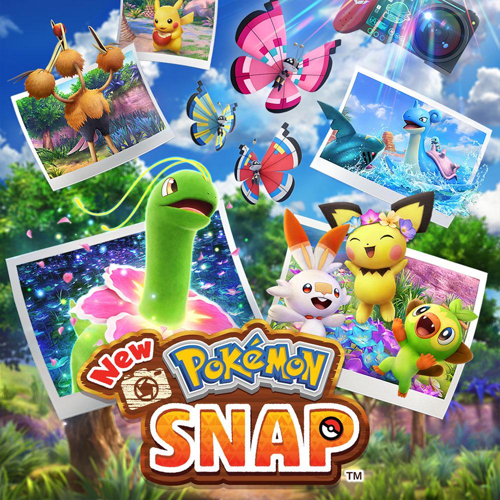 Image du jeu New Pokémon Snap sur Nintendo Switch
