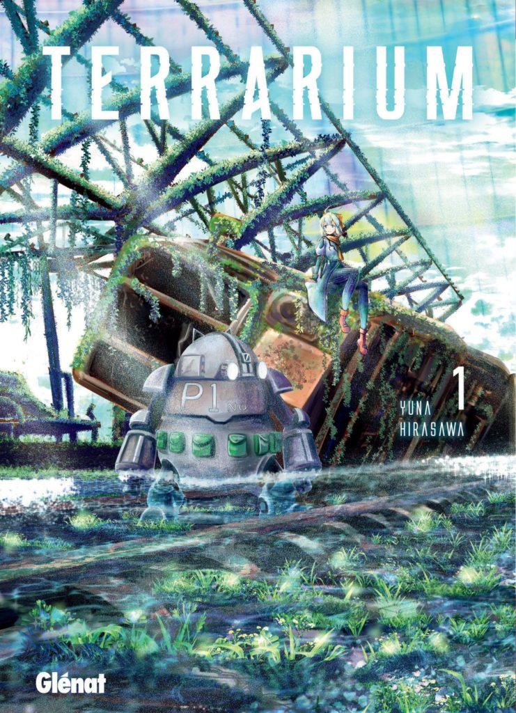 Couverture du tome 1 de Terrarium chez Glénat manga