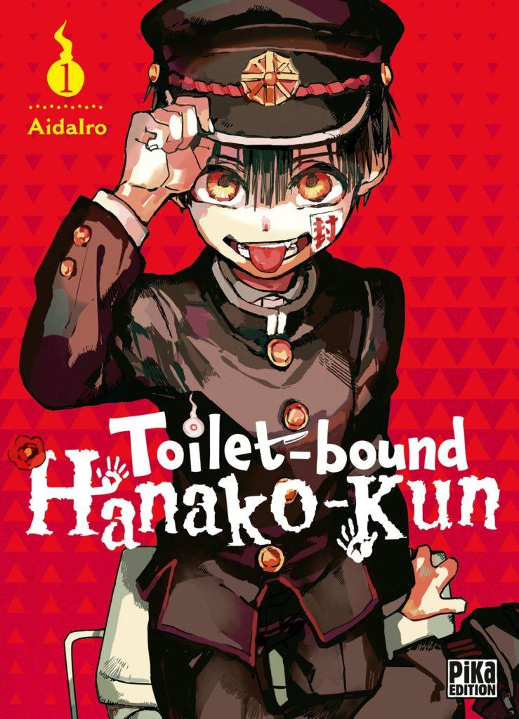 Couverture du tome 1 de Toilet-Bound chez Pika