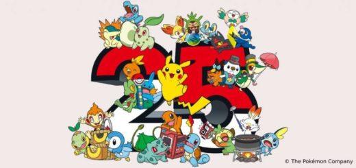 UNE de l'article sur les 25 ans de Pokémon