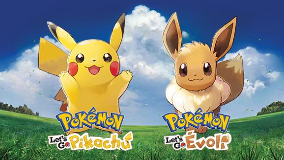 Présentation de Pokémon Let's Go Pikachu et Evoli
