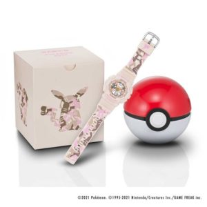 Montre Baby-G Pokémon chez Casio