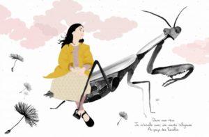 Nanako et la mante religieuse / Les 24 saisons de Nanako de Pascale Moteki, éditions L'iroli