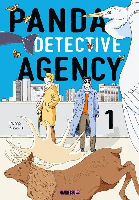 Couverture du tome 1 de Panda Detective Agency chez Mangetsu